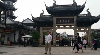 Matt Raad In China